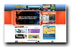 screenshot de www.pokemon.fr