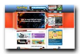 screenshot de www.pokemon.fr