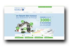 screenshot de www.prime-eco-travaux-carrefour.fr