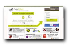screenshot de www.projet-voltaire.fr