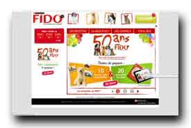 screenshot de www.purina-fido.fr