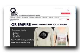 screenshot de www.qrempire.com/fr/