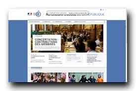 screenshot de www.refondonslecole.gouv.fr