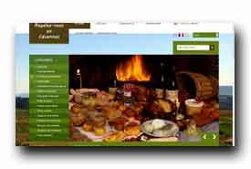 screenshot de regalez-vous-en-cevennes.com