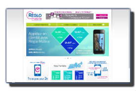 screenshot de www.reglomobile.fr