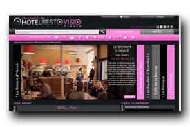 screenshot de www.restovisio.com