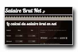 screenshot de www.salairebrutnet.fr
