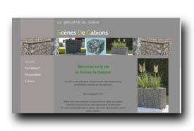 screenshot de www.scenes-de-gabions-fr