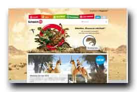 screenshot de www.schleich-s.com