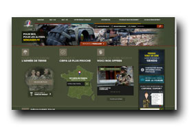 screenshot de www.sengager.fr