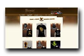 screenshot de www.shaman-shop.fr