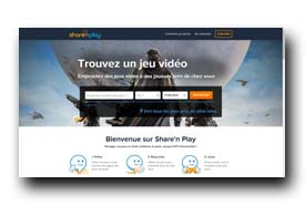 screenshot de www.sharenplay.com