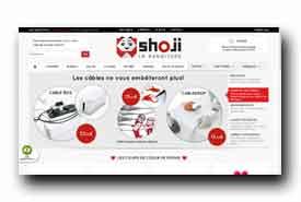 screenshot de www.shoji.fr