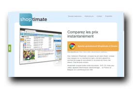 screenshot de www.shoptimate.fr