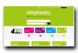 screenshot de www.simplauto.com