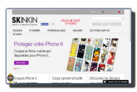 screenshot de www.skinkin.com