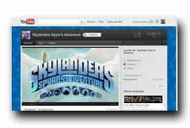 screenshot de www.youtube.com/skylanders