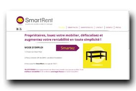screenshot de www.smartrent.fr