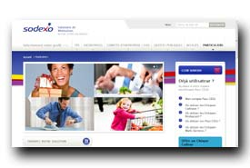 screenshot de www.sodexoavantages.fr