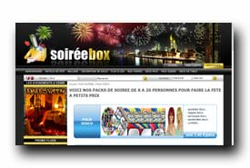 screenshot de www.soireebox.fr