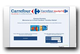 screenshot de www.sondage-carrefour.fr
