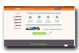 screenshot de www.soyooz.com