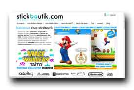 screenshot de www.stickboutik.com