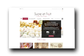 screenshot de www.sucreetfruit.com