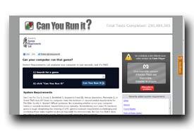 screenshot de www.systemrequirementslab.com