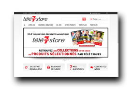 screenshot de www.tele7jourstore.fr