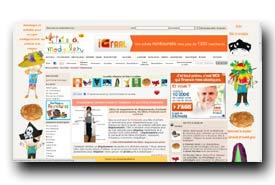 screenshot de www.teteamodeler.com/dossier/deguisement.asp