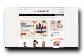 screenshot de www.thebeautyst.com