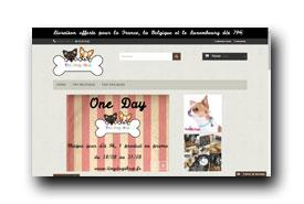 screenshot de tinydogshop.fr