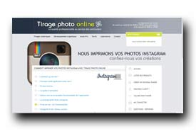 screenshot de www.tirage-photo-online.com/pages/instagram/instagram
