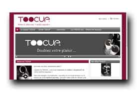 screenshot de www.toocup.com