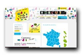 screenshot de www.tooteegoodee.com
