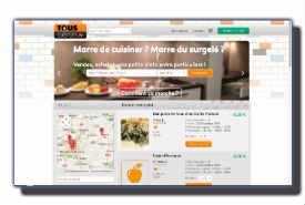 screenshot de www.touscuistots.fr