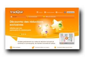 screenshot de www.tradistar.com