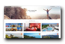screenshot de www.travelbird.fr