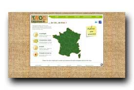 screenshot de www.troc-legumes.fr