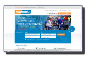screenshot de www.trocathlon.fr