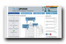 screenshot de www.trocdepresse.com
