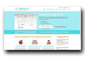 screenshot de www.typingweb.com
