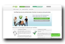 screenshot de www.verifdeal.fr