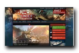 screenshot de www.warthunder.com/fr