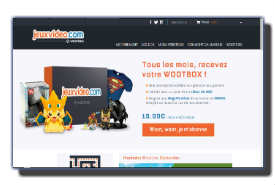 screenshot de www.wootbox.fr
