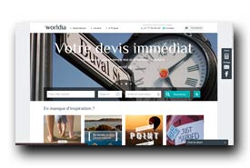 screenshot de www.worldia.fr