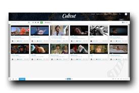 screenshot de www.cultcut.com