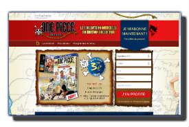 screenshot de www.hachette-onepiecelog.com