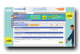 screenshot de www.louechezleclerc.com
